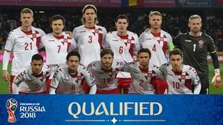teamfoto voor Denmark