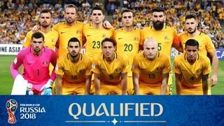teamfoto voor Australia