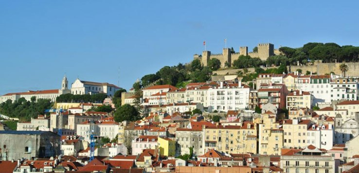 Kurzreise Lissabon - Castelo de Sao Jorge