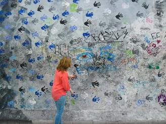 Anna immer unterwegs in Berlin