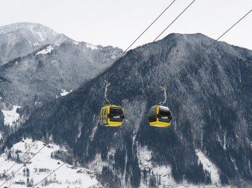 Winterurlaub in Oesterreich - Seilbahn