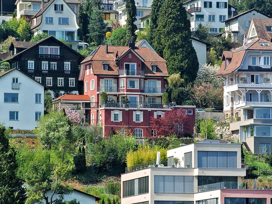 Zürich Reisetipps - Ausblick vom Boot auf dem Zürichsee