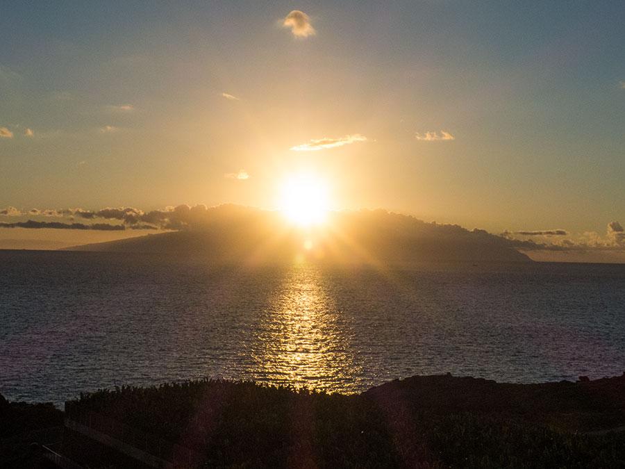 Rückblick 2017 - Sonnenuntergang auf Teneriffa