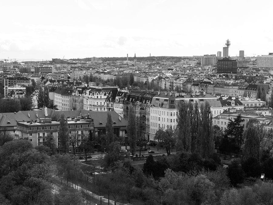 Rückblick 2017 - Wien in schwarz-weiß