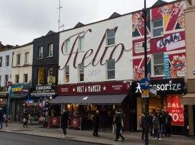 "Camden Street-Art Haus ""Hello"""