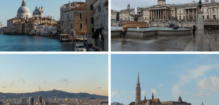Cityhopping: Venedig, London, Barcelona, Budapest