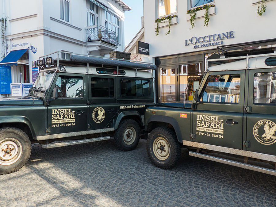 Inselsafari Usedom Landrover