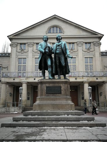 Goethe und Schiller Denkmal