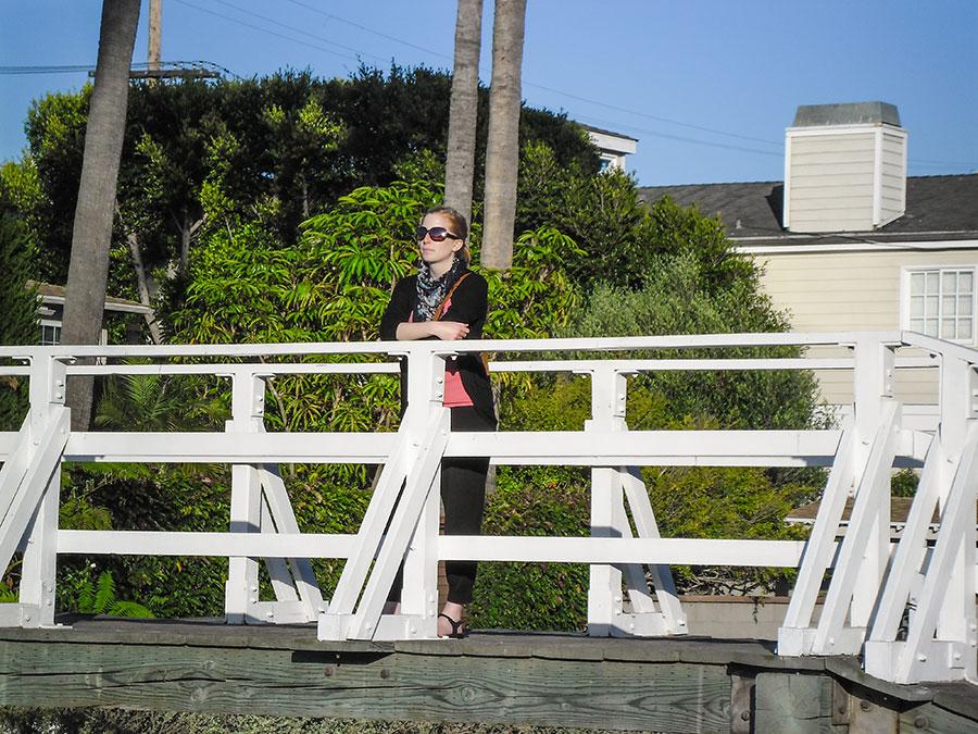 Rückkehr nach Los Angeles - Venice Canals