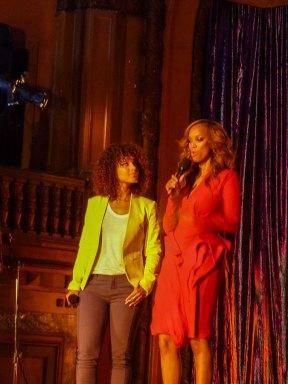 Rückkehr nach Los Angeles - Tyra Banks und Aleica Keys