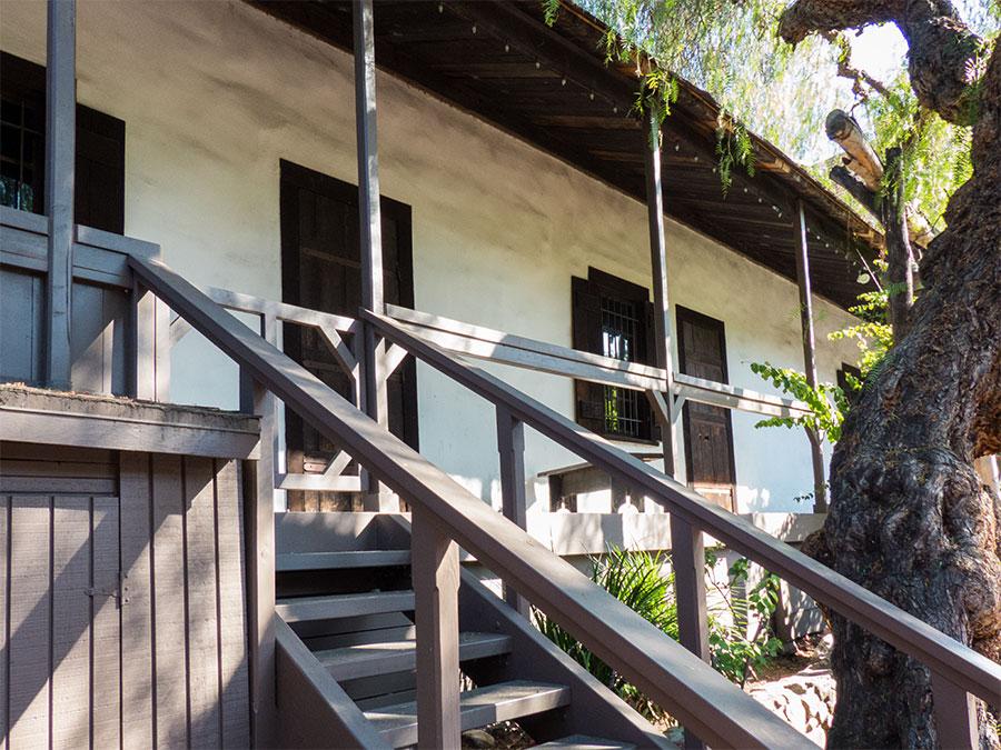 Das älteste Haus von Los Angeles
