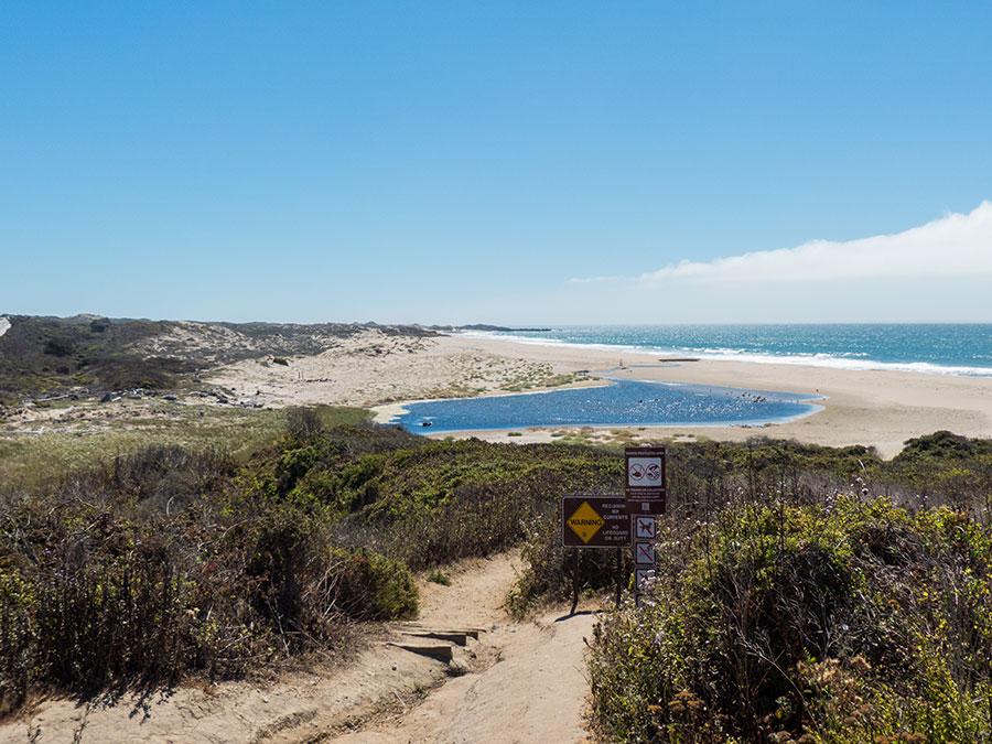 Highway 1 Gazos Creek State Beach