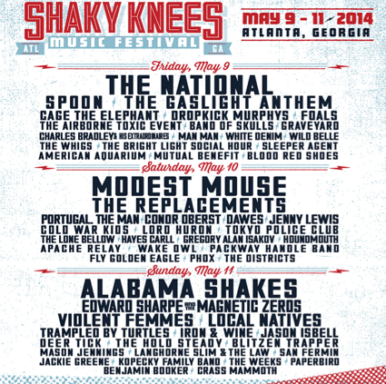 Shaky Knees Music Festival - Atlanta, GA