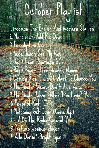 October Playlist C