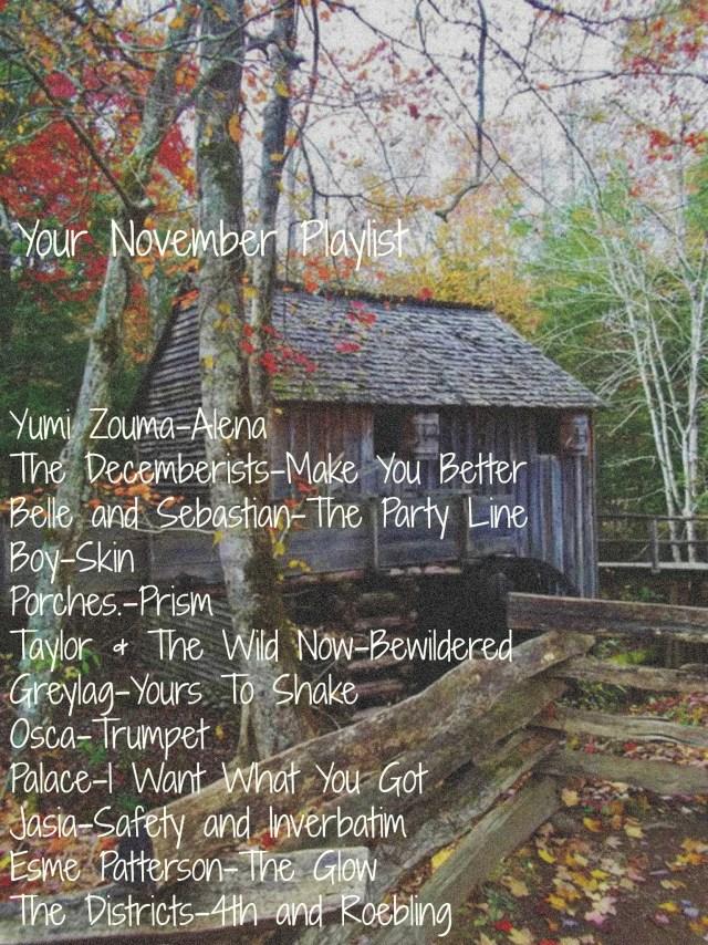 Your November Playlist