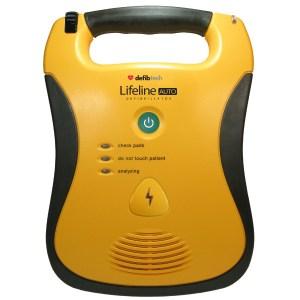 Deifbtech Lifeline AUTO Automated External Defibrillator (AED)