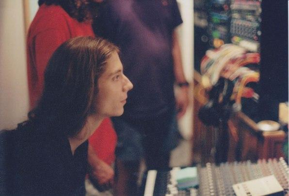 Josh in the studio in 2004