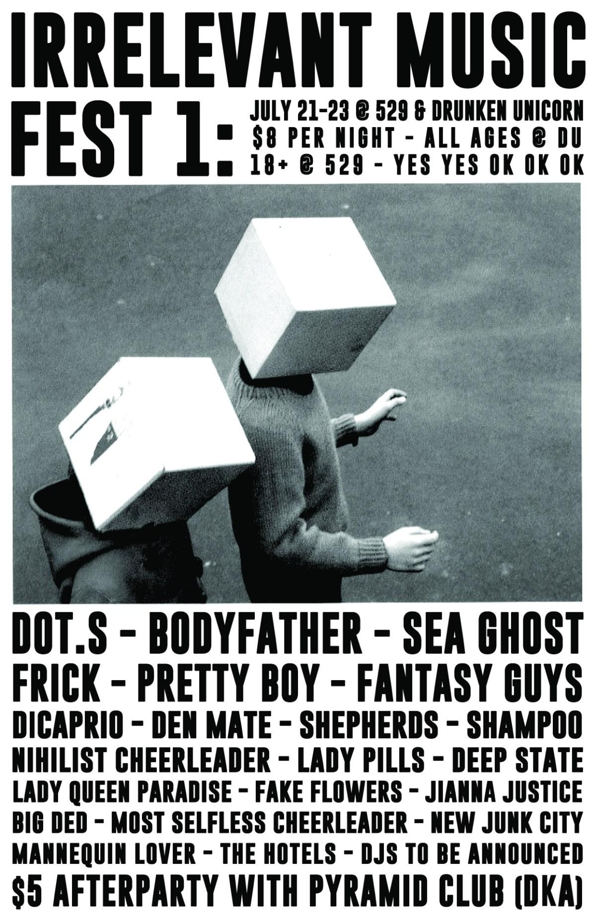 Irrelevant Music Fest 1