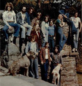 WRAS staff circa 1976