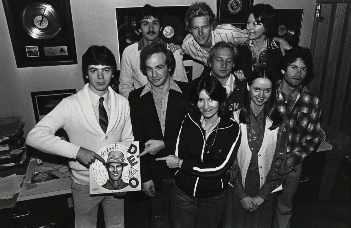 WRAS staff circa 1978