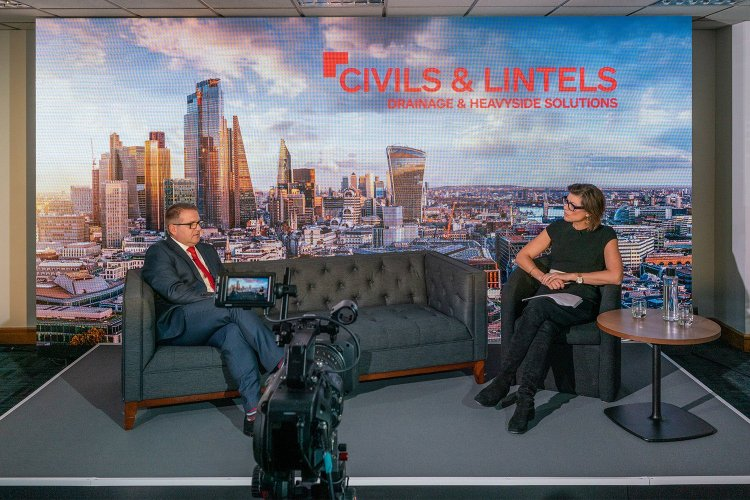 StudioX LED Streaming Studio in London with Kate Silverton