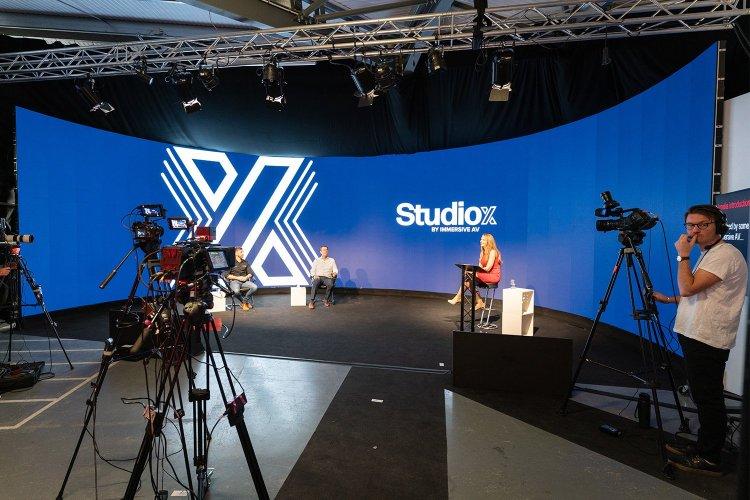 LED streaming studios from StudioX and Immersive AV