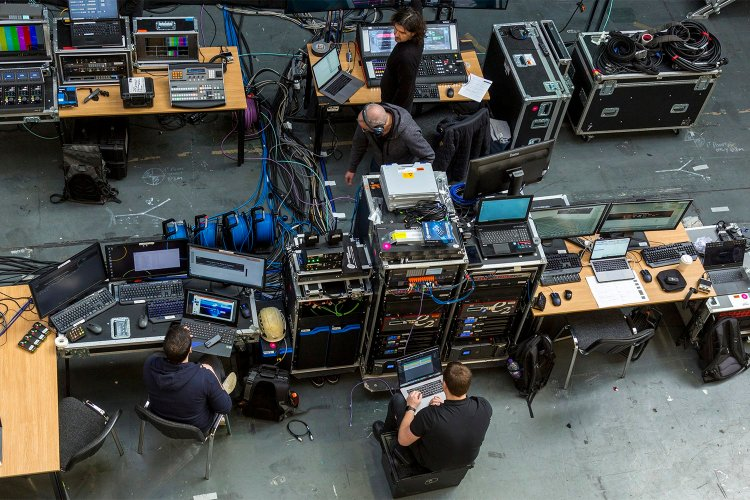 Live event technical production services from Immersive AV