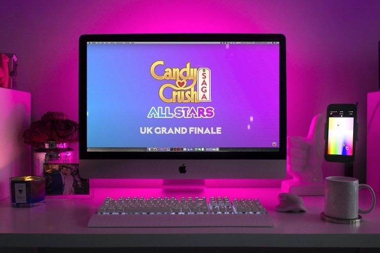 Candy crush live stream by Immersive AV