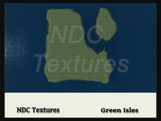 Green Isles terrain file top view