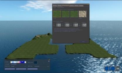 Harbour Terrain File settings