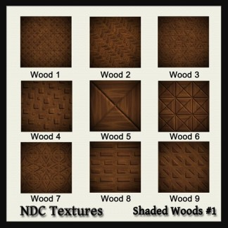 Shaded Woods #1 Texture Pack by NDC Textures