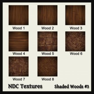 Shaded Woods #3 Texture Pack by NDC Textures