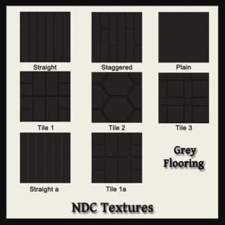Grey Flooring Texture Pack by NDC Textures