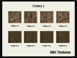 Crates #1 Texture Pack by NDC Textures