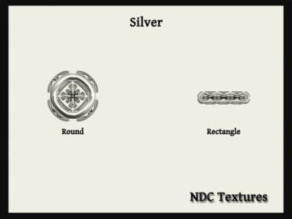 Silver Texture Pack by NDC Textures