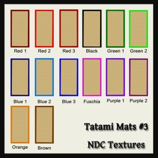 Tatami Mats #3 Texture Pack by NDC Textures
