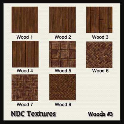Woods #3 Texture Pack by NDC Textures