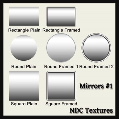 Mirrors 1 Texture Pack by NDC Textures