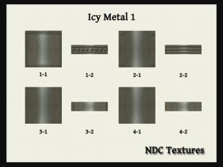 NDC Textures Contact Sheet Icy Metal 1