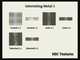 NDC Textures Contact Sheet Interesting Metal 2