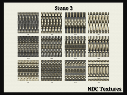 Stone 3 Texture Pack by NDC Textures