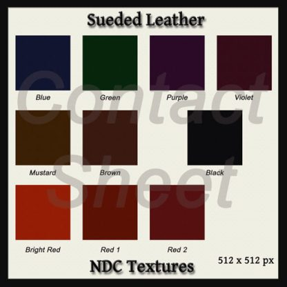 Sueded Leather Texture Pack by NDC Textures