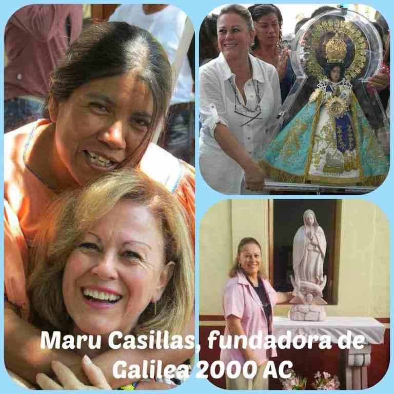 Lee más sobre el artículo Maru Casillas, fundadora de Galilea 2000 AC