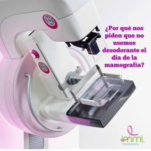 Lee más sobre el artículo Desodorante y mamografía