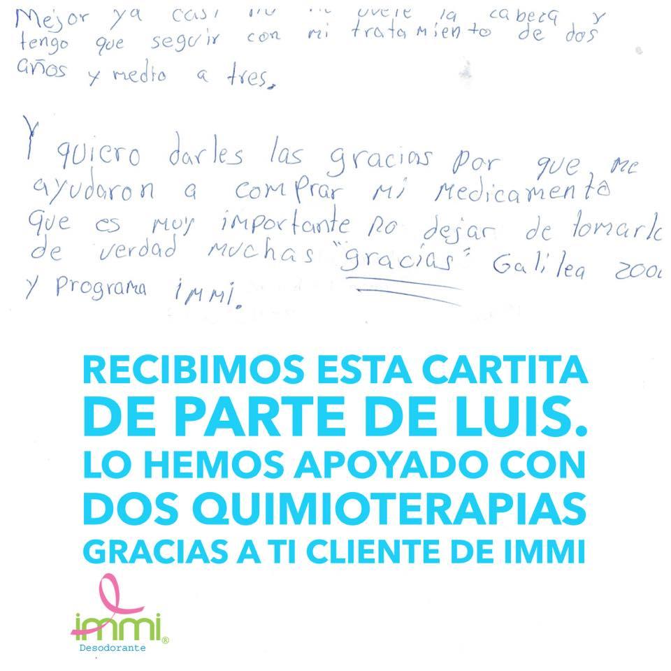 En este momento estás viendo La carta de Luis
