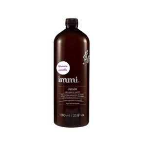 Jabón para cara y cuerpo con lavanda-vainilla 1000 ml