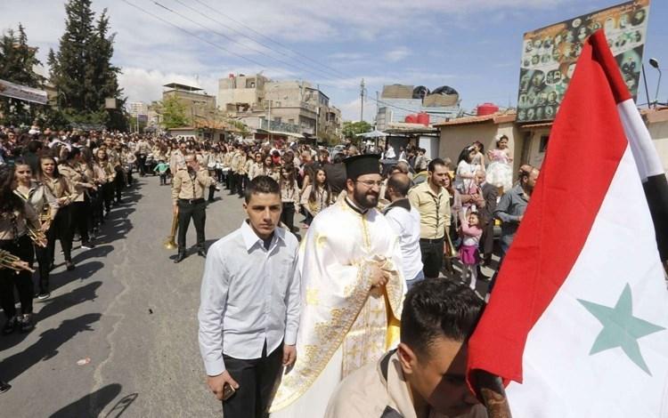 الهجرة المسيحية النموذج السوري