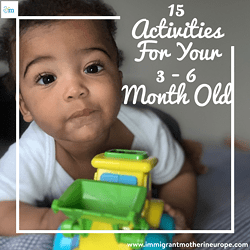 Baby Activities For 3 – 6 Months Old