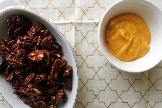 pumpkin pecan pie pecans and pumpkin