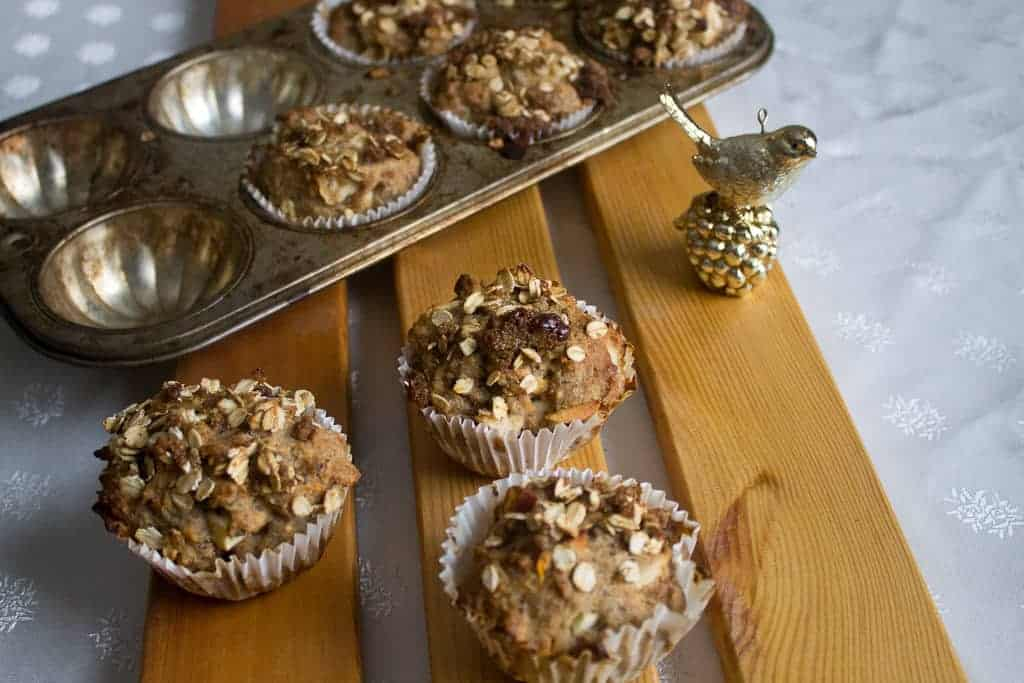 Morning glory muffins bird